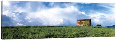 Tuscan Farmhouse Canvas Art Print