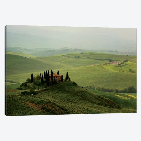 Tuscan Villa Canvas Print #SLK40} by Shelley Lake Canvas Wall Art