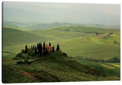 Tuscan Villa Canvas Art Print