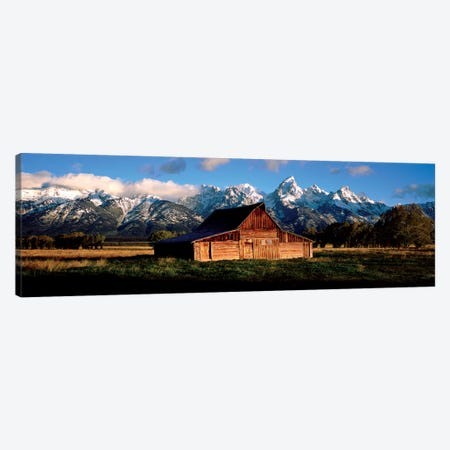 Alma Moulton Barn Canvas Print #SLK4} by Shelley Lake Canvas Artwork