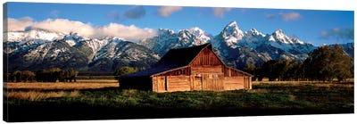 Alma Moulton Barn Canvas Art Print