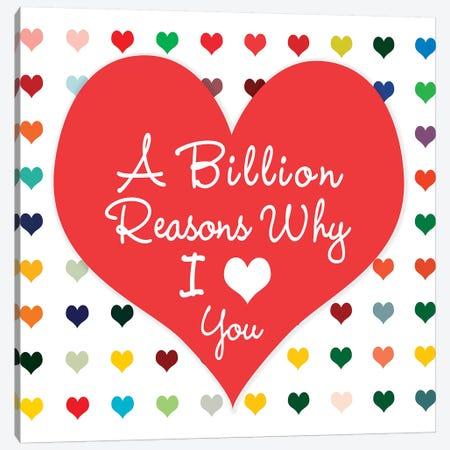 Billion Reasons Canvas Print #SLK5} by Shelley Lake Canvas Artwork