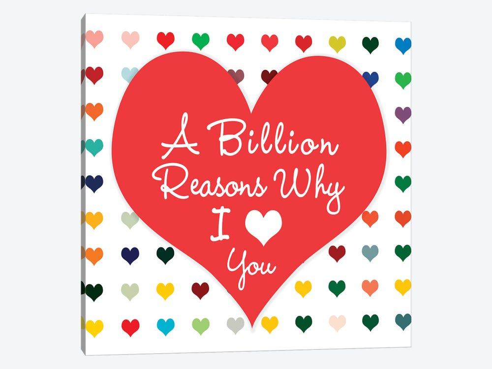 Billion Reasons by Shelley Lake 1-piece Art Print