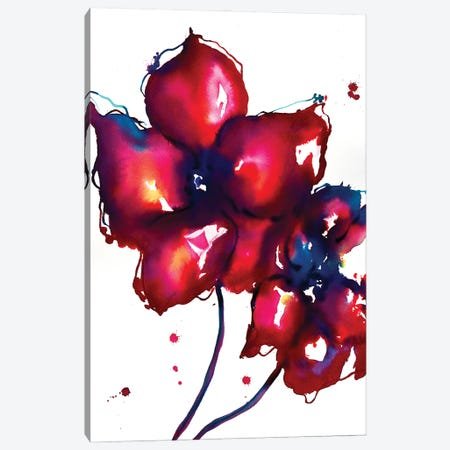 Bold Flowers I Canvas Print #SLL22} by Sonia Stella Canvas Print