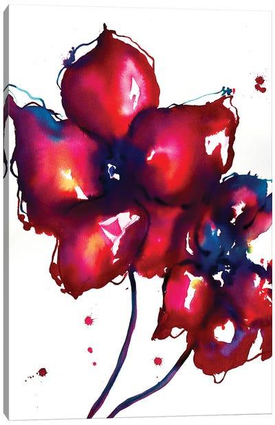 Bold Flowers I Canvas Art Print