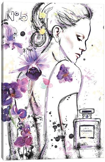 Chanel 5A Canvas Art Print