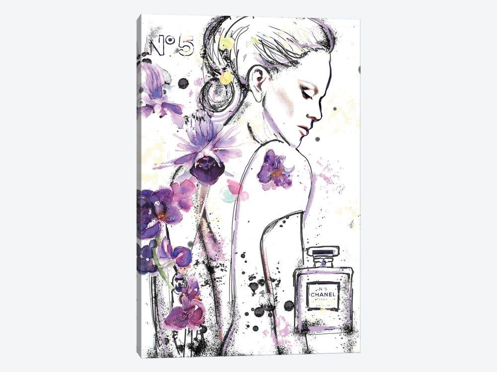 Chanel 5A by Sonia Stella 1-piece Canvas Print