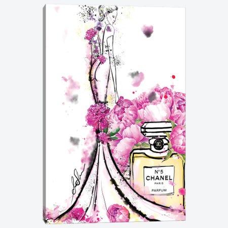 Chanel Nicole Canvas Print #SLL29} by Sonia Stella Art Print