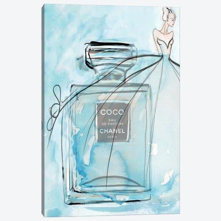 Coco Blue Hr Canvas Print #SLL34} by Sonia Stella Canvas Art Print