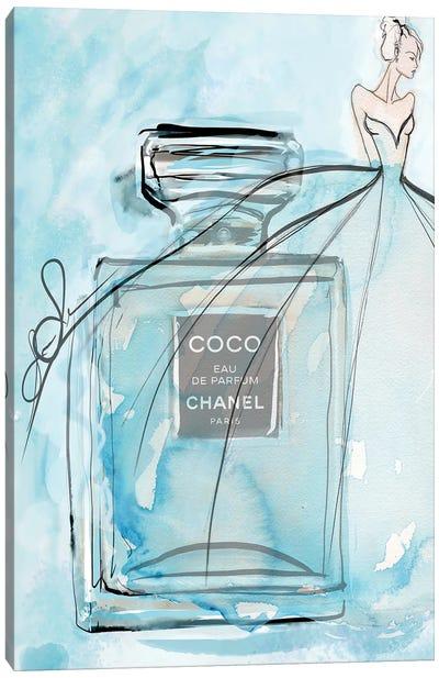 Coco Blue Hr Canvas Art Print