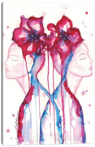 Contemplation Double Canvas Art Print