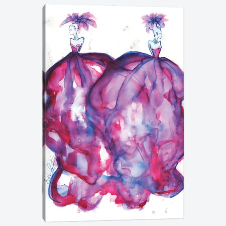 Double Couture Canvas Print #SLL41} by Sonia Stella Canvas Print