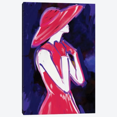 Fashion Art XXIII Canvas Print #SLL42} by Sonia Stella Canvas Print