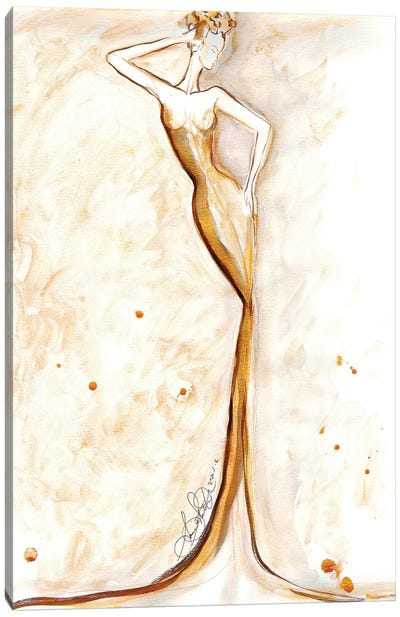 Fashion Illustration Art Canvas Art Print