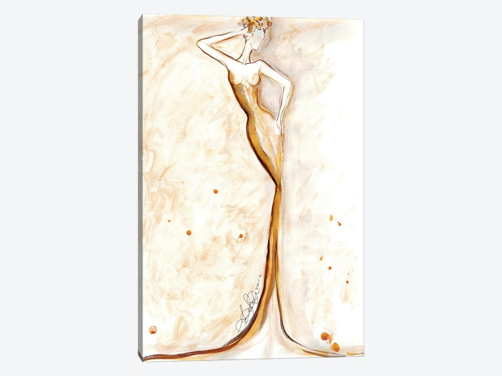 Fashion Illustration Art by Sonia Stella 1-piece Canvas Artwork
