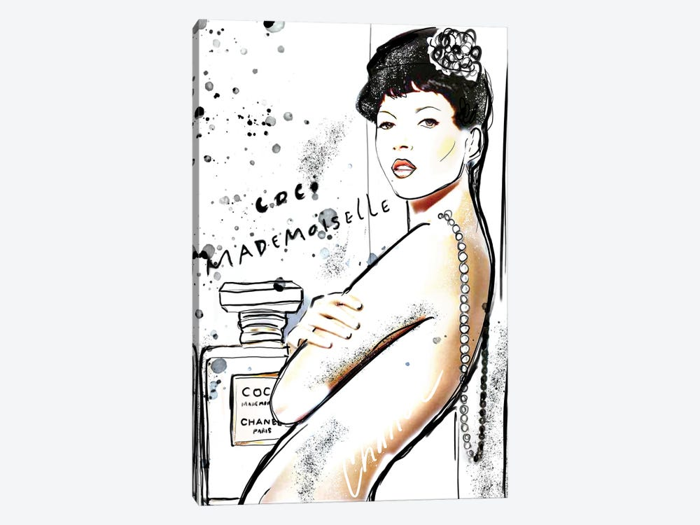 Mademoiselle Chanel Art III by Sonia Stella 1-piece Art Print
