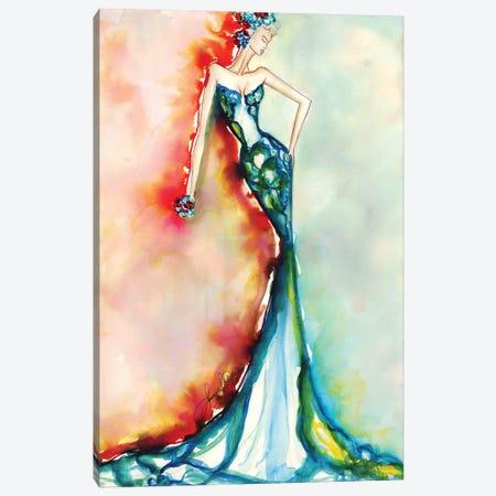 Natural Love Canvas Print #SLL49} by Sonia Stella Art Print
