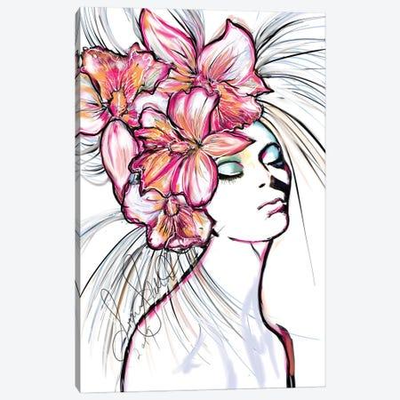 Ochids Canvas Print #SLL52} by Sonia Stella Canvas Artwork