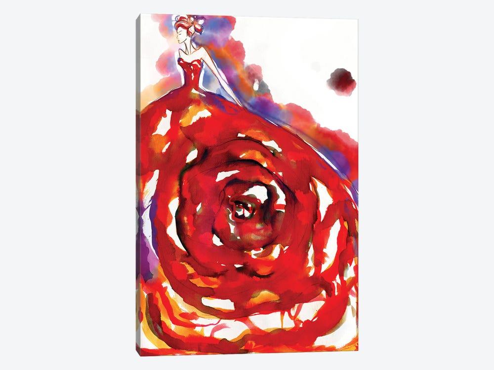 Secretgarden Watercolor by Sonia Stella 1-piece Art Print