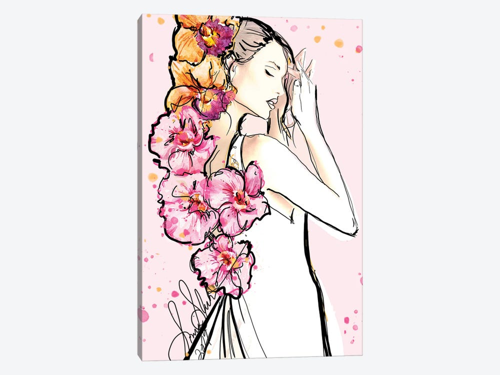 Spring II by Sonia Stella 1-piece Canvas Art