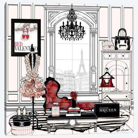 Paris Canvas Print #SLR15} by So Loretta Canvas Art Print
