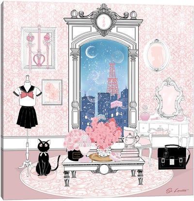 Usagi Room Color Canvas Art Print