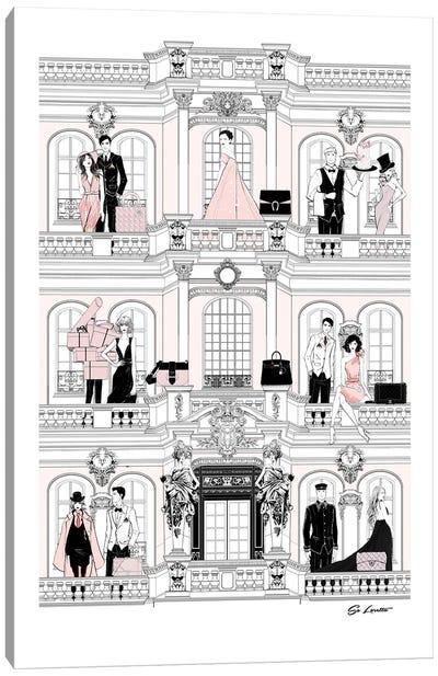 Fashion House Canvas Art Print