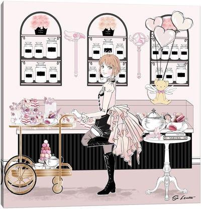 Sakura Milkshake Canvas Art Print