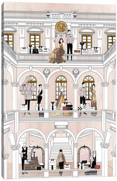 Fashion Hotel Canvas Art Print