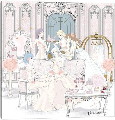 Sailor Moon Party Canvas Art Print