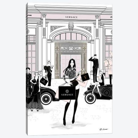 Jisoo Versace Canvas Print #SLR5} by So Loretta Canvas Wall Art