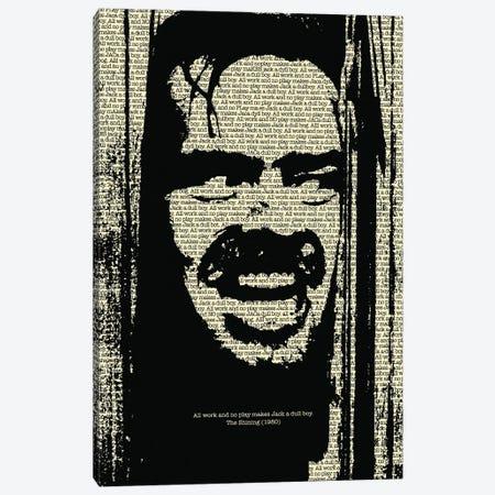 The Shining II Canvas Print #SLV100} by Simon Lavery Canvas Print