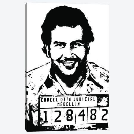 Pablo Escobar. Canvas Print #SLV73} by Simon Lavery Canvas Artwork