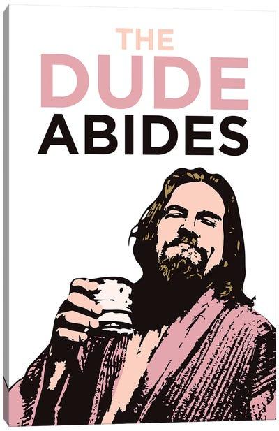 The Dude Abides Canvas Art Print