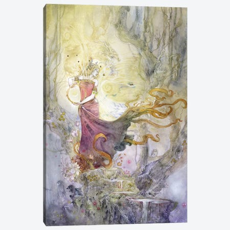 Melaina Canvas Print #SLW106} by Stephanie Law Canvas Print