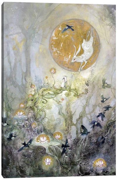Moongazing Canvas Art Print