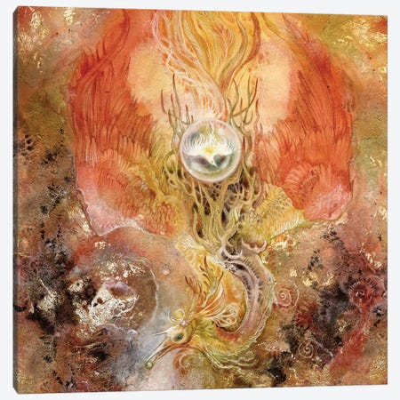 Phoenix I Canvas Print #SLW119} by Stephanie Law Canvas Print