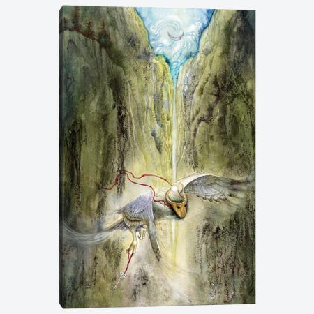 Across Boundaries Canvas Print #SLW11} by Stephanie Law Canvas Art Print