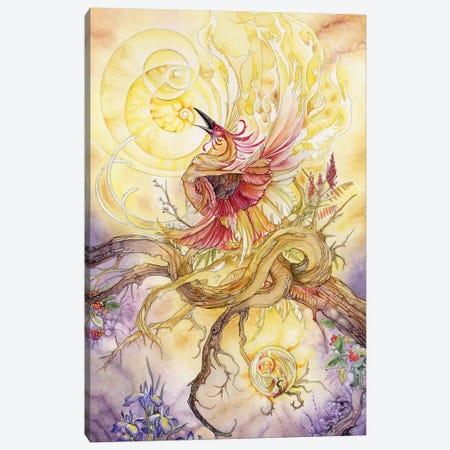 Phoenix II 3-Piece Canvas #SLW120} by Stephanie Law Canvas Wall Art