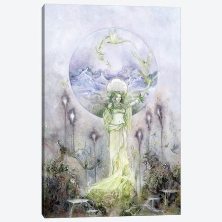 Poliahu Canvas Print #SLW121} by Stephanie Law Canvas Artwork