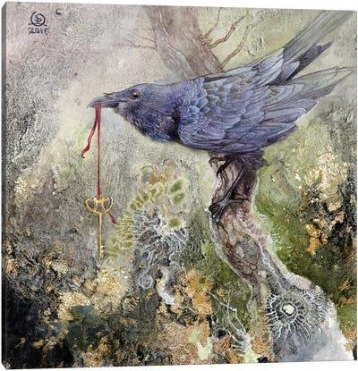 Raven IV Canvas Art Print