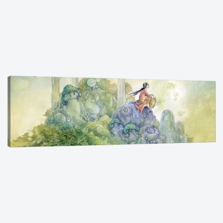 Reflections Canvas Print #SLW129} by Stephanie Law Canvas Wall Art
