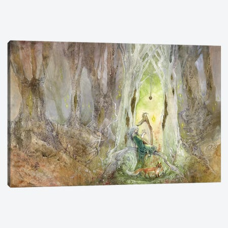 Adder Stone Canvas Print #SLW12} by Stephanie Law Canvas Art Print