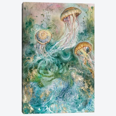 Surge Canvas Print #SLW144} by Stephanie Law Art Print