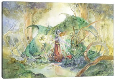 Ancient Canvas Art Print