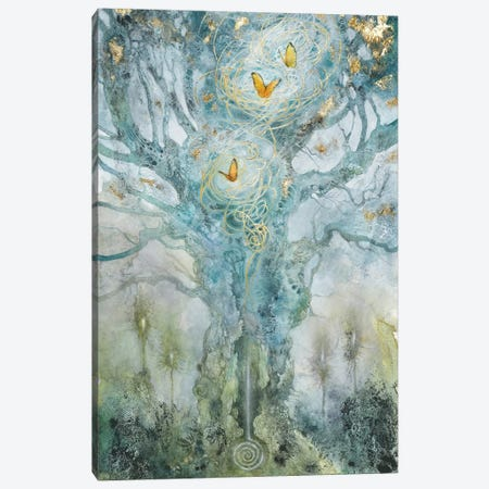 Threads Canvas Print #SLW150} by Stephanie Law Canvas Print