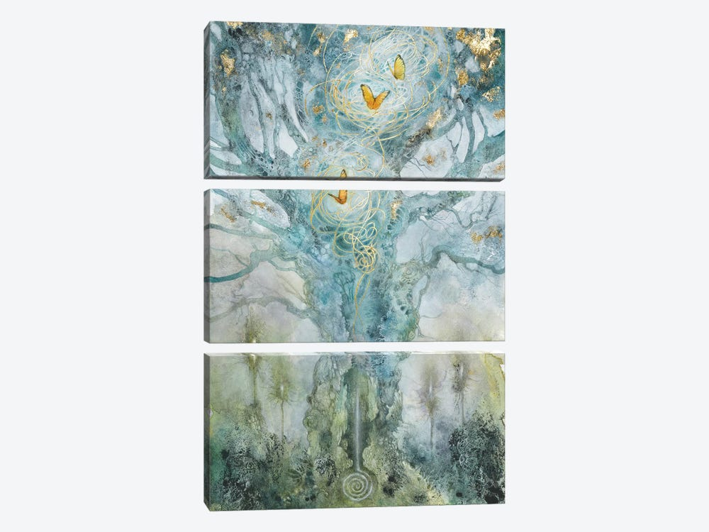 Threads by Stephanie Law 3-piece Canvas Art Print