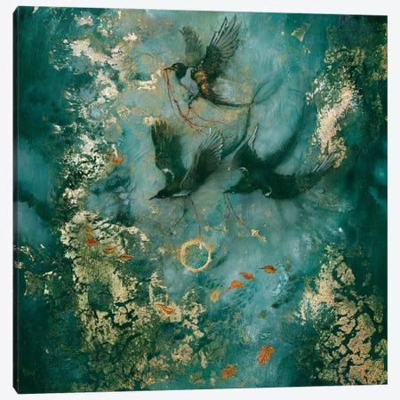 Three Fates Canvas Print #SLW151} by Stephanie Law Art Print
