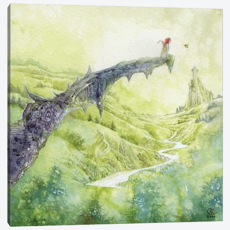 Two Points Canvas Print #SLW162} by Stephanie Law Canvas Artwork