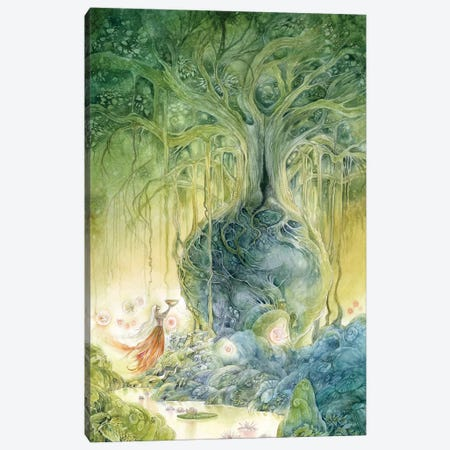 Banyan Canvas Print #SLW16} by Stephanie Law Canvas Art
